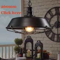 Chao đèn trang trí lồng sắt phi 360