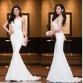 Đầm dạ hội thiết kế 2 dây đuôi cá sang trọng