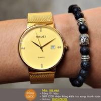 Đồng hồ nam chính hãng HALEI dây nhuyễn