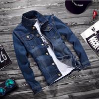 Áo khoác jeans nam-AKJ1