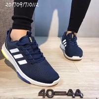 Giày Adidas cloudfoam xanh, giày nam
