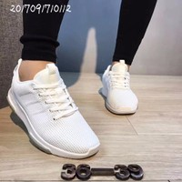 Giày Adidas cloudfoam trắng , giày nư