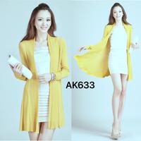 Áo khoác len phome dài sắc màu duyên dáng,quyến rũ-AK633