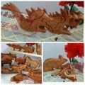 Combo 2 bộ đồ chơi ghép hình con vật bằng gỗ hàng Việt Nam xuất khẩu