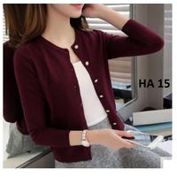 Áo len cardigan nữ, hàng nhập, chất đẹp, kiểu dáng hàn quốc