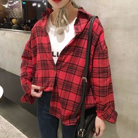 áo sơ mi flannel caro Mã: AM1211