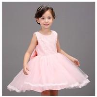 Đầm công chúa bé gái cao cấp kèm cài hoa 2- 10 tuổi