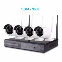 Camera kit wifi 4 camera 1.3M - 960P- EV-4196WYL