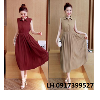 Đầm váy maxi váy đầm maxi VINTAGE L12VD36