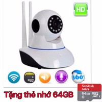 Camera Wifi Yoosee - Camera HD - tặng thẻ nhớ 64gb