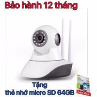 camera giám sát, tặng thẻ nhớ 64gb