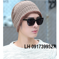 nón len nam nữ Mũ len nam nữ thời trang Hàn QUốc HKNL53