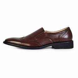 Giày lười nam G50N màu nâu
