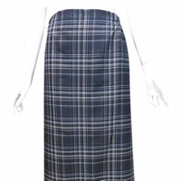 Váy chống nắng-nền đen ô vuông kẻ