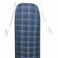 Váy chống nắng-nền đen kẻ ô xanh
