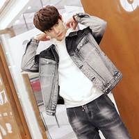 áo khoác jeans phối màu cổ điển Mã: NK1126