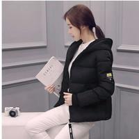 Áo khoác phao phong cách Hàn Quốc AK7D