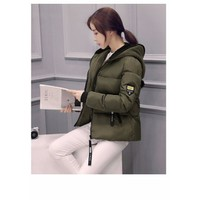 Áo khoác phao phong cách Hàn Quốc AK7R