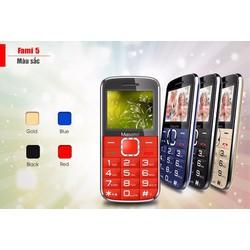 Điện thoại Masstel Fami S ,Tặng Dock Sạc Tiện Dụng