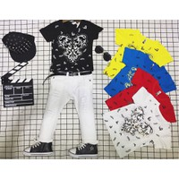 áo thun 3D bé trai cao cấp