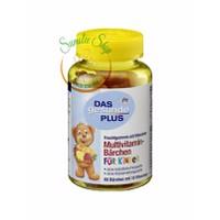 Kẹo Dẻo Gấu Das Plus Bổ sung Vitamin tổng hợp cho Bé