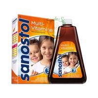 Siro Sanostol Bổ sung Vitamin Tổng hợp cho Bé 3-6 tuổi