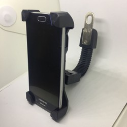 Giá đỡ điện thoại smartphone trên tay lái xe máy, motor