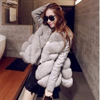 Áo khoác lông nữ size S đến 3XL - giá 920k -H1999