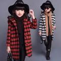 Áo khoác bé gái dáng dài - KB010