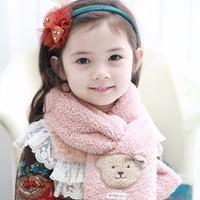 Khăn choàng cổ bé gái xinh xinh - KCB001