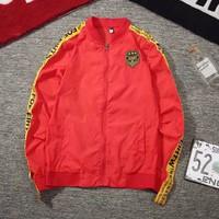 áo khoác dù tay viền logo army Mã: NK1142 - ĐỎ