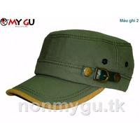 Nón thời trang cao cấp M592 - Màu ghi 2
