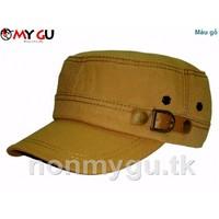 Nón thời trang cao cấp M592 - Màu gỗ