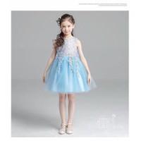 BG2338 - Đầm voan công chúa