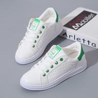 Giày thể thao nữ phối xanh hàng nhập - LN1404
