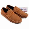 Giày mọi Huy Hoàng da lộn màu bò nhạt HS7701