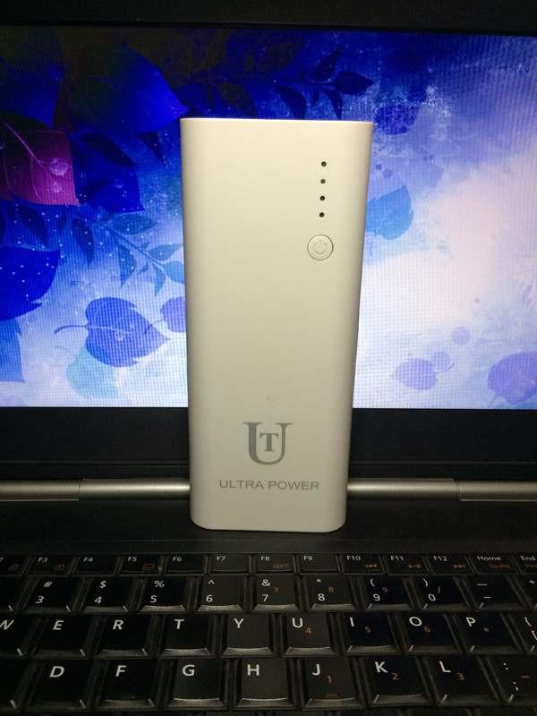 Pin sạc dự phòng Ultra Power 3 Output, đèn pin, đèn soi tiền giả
