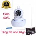 Camera giám sát- camera gia đình tặng thẻ 64gb