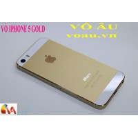 VỎ IPHONE 5 GOLD ZIN