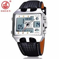 Đồng hồ thể thao , đồng hồ điện tử 2 máy , chống nước OHSHEN 102