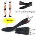 Lót giày tăng chiều cao nguyên bàn 3 lớp cao 7cm - K2288 - Sale hot