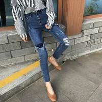 quần jeans skinny rách tua  Mã: QD1657