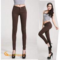 Quần kaki nữ đẹp co giãn skinny GLQ019