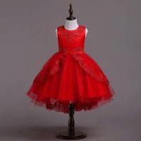 BG2351 - Đầm voan công chúa