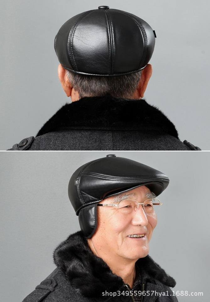 Mũ da-lông cho bố và ông