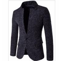 áo khoác blazer cổ trụ Mã: NK1010 - ĐEN