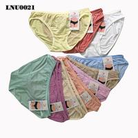 Bộ 10 quần lót thun hình bướm và hoa nổi
