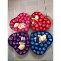 Hộp quà 20 bông hồng + gấu | hộp quà sinh nhật | Quà Tặng Tết