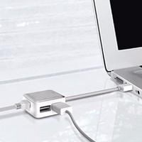 Bộ cáp chuyển đổi Hub Ethernet Adapter.2 Post Cho máy tính MACBOOK,PC