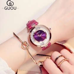 Đồng hồ nữ dây da cực đẹp